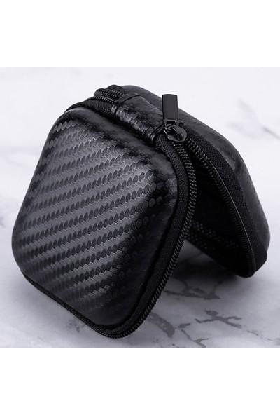 Buyfun Kulaklık Taşıma Çantası Tutucu Sert Siyah