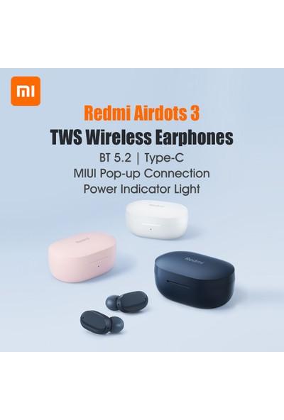 Redmi Airdots 3 Tws Bluetooth 5.2 Kablosuz Kulaklık Kulak Pembe (Yurt Dışından)