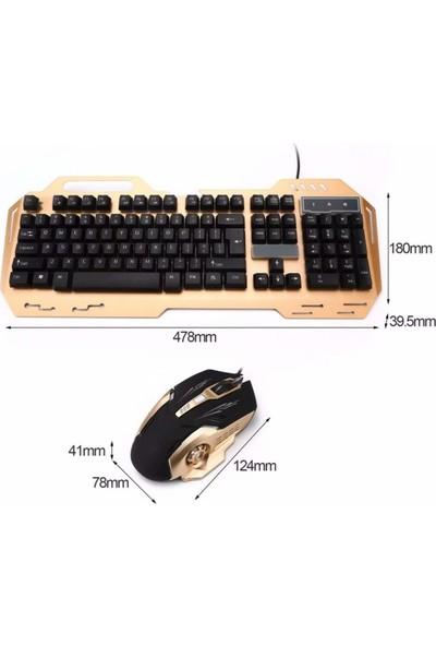 Owwotech Işıklı Oyuncu Klavye Mouse Seti OW-8014