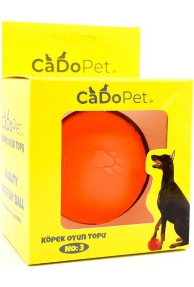 Cado Pet Köpek Oyun Topu 3 Numara ( 8 cm )