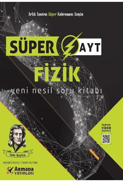 Armada Yayıncılık Süper Ayt Fizik Soru Bankası - Mehmet Delice