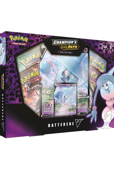 Pokemon Tcg Champıon's Path Collectıon Hatterene V Box