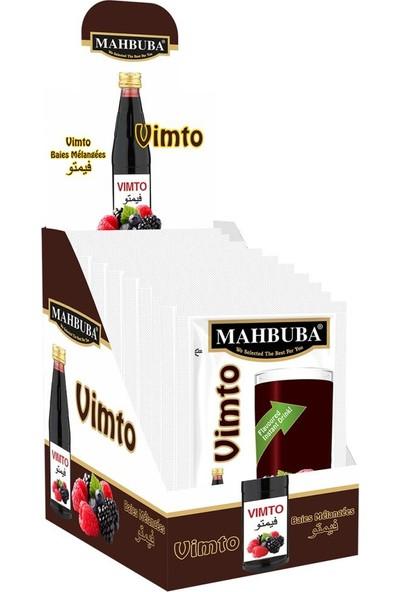 Mahbuba Vimto Toz İçecek 24x9gr Soğuk Veya Sıcak Tüketilebilir