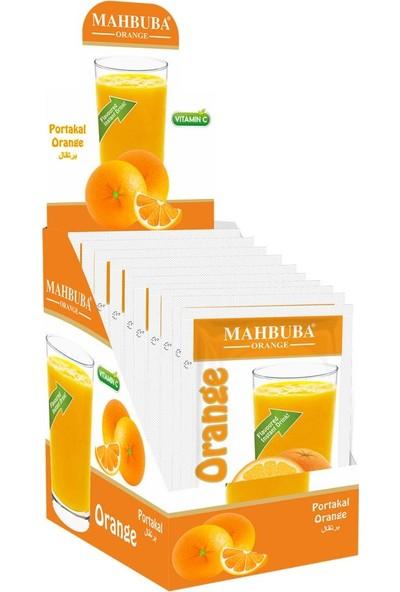 Mahbuba Portakal Toz İçecek 24x9gr Soğuk Veya Sıcak Tüketilebilir