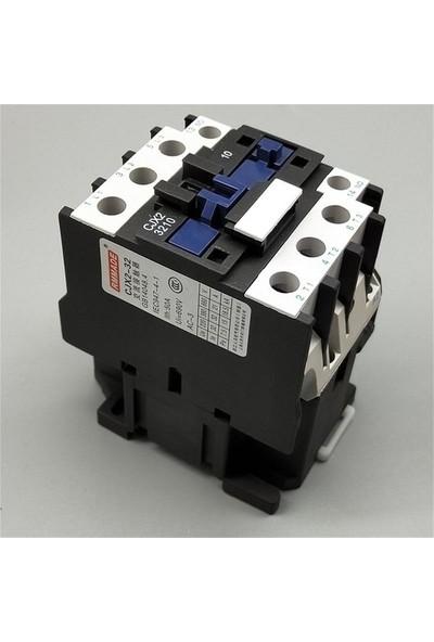 32AMPER 220V Bobinli 15KW No Kontaktör El-Max D3210