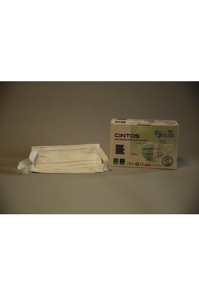 Cintos Yeni Nesil Meltblownlu Maske 50 Adet Beyaz