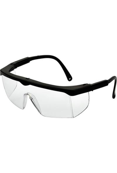 Bul - Max Bul-Max 2 Adet Şeffaf Usta Çapak Gözlüğü Koruyucu Gözlük