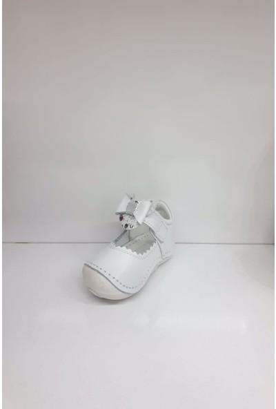 Hayat HYT002 Ilk Adım Deri Kız Bebek Ortopedi Yazlık Sandalet
