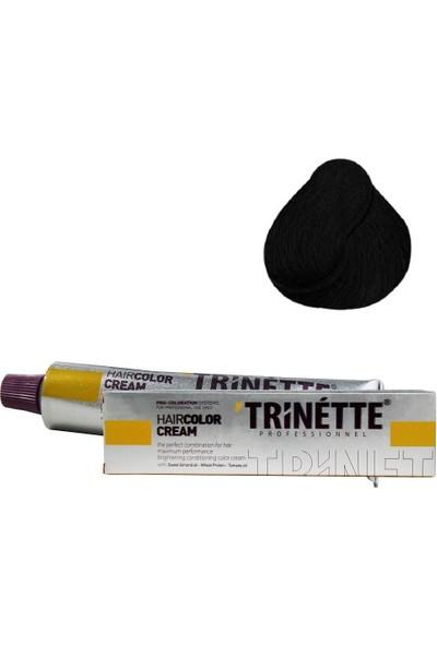 Trinette Tüp Boya 1 Siyah 60 ml