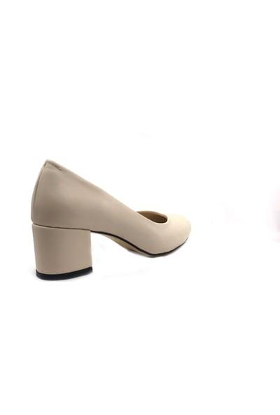 Gizzah Ten Alçak Topuklu Günlük Kadın Ayakkabı