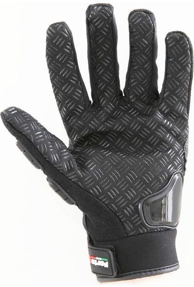 Forte Gt 10 Korumalı 3D Siyah Eldiven XXLarge