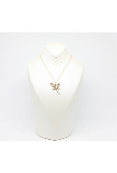 Altınköşe Mücevherat Altın Yusufçuk Kolye