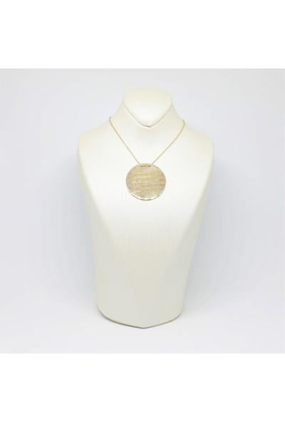 Altınköşe Mücevherat Altın Plaka Kolye