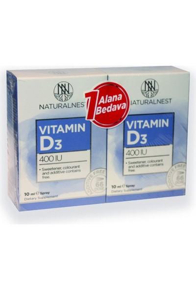 Naturalnest Vitamin D3 400 Iu 10ML Sprey
