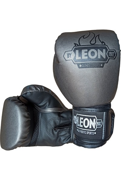 By Leon 1982 Leon Blade Training Boks, Kick Boks ve Muay Thai Eldiveni Gri