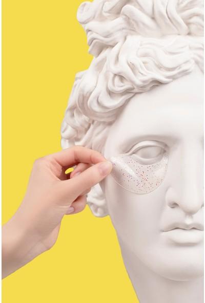 Termofom Heykele Göz Altı Maskesi Kompozisyonlu Poster (50X70)