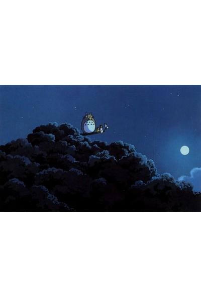 Termofom Komşum Totoro Posteri - Studio Ghibli Posterleri (35X50)