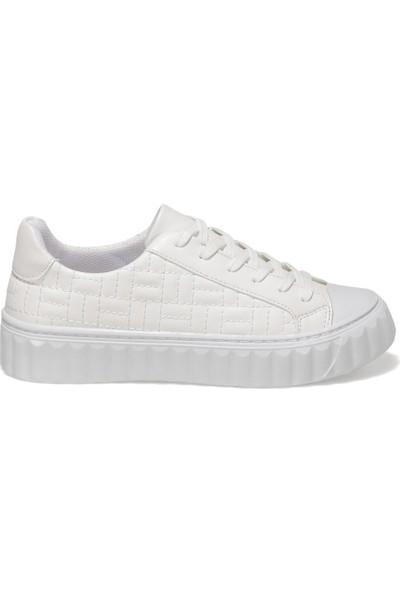 Butigo Raya 1fx Beyaz Kadın Havuz Taban Sneaker