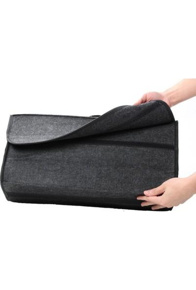 Ankaflex Keçe Bagaj Çantası Araç Bagaj Organizer Oto Bagaj Düzenleyici Alet Çantası Siyah Renk