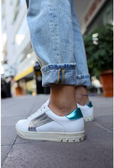Shoemark Carmen Beyaz Kadın Sneaker