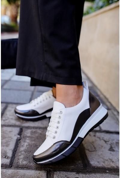Pandora Beyaz Kadın Sneaker