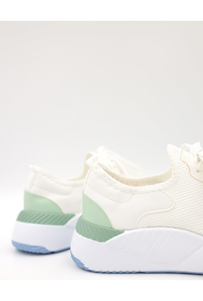 Shoemark Merry Kadın Beyaz Sneaker
