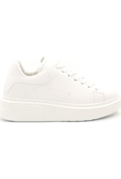 Mateo Kadın Beyaz Sneaker