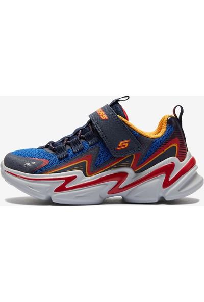 Skechers Wavetronic Büyük Erkek Çocuk Lacivert Spor Ayakkabı 403603L NVBLNVBL