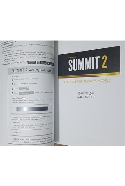 Pearson Education Yayıncılık Summit 2 Student's Book + Workbook With Myenglishlab