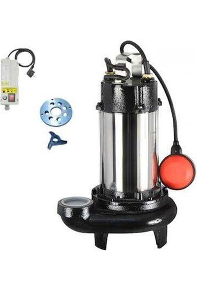 Sumak 220 V Monofaze Bıçaklı Foseptik Dalgıç Pompa 1,5 Hp