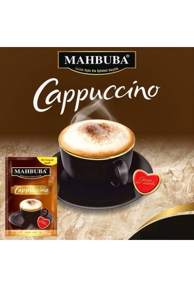 Mahbuba Bol Köpüklü Classic Cappuccino Kahve 12 x 12 gr