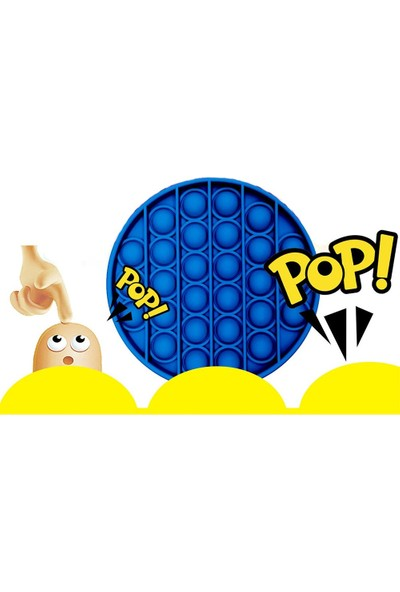 Heroes Pop It Push Bubble Duyusal Zihinsel Stres Atan Oyuncak