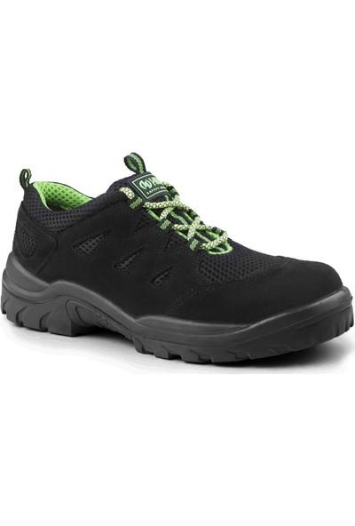 Hds Flx Trigon S1 Ayakkabı Bağcıklı Siyah