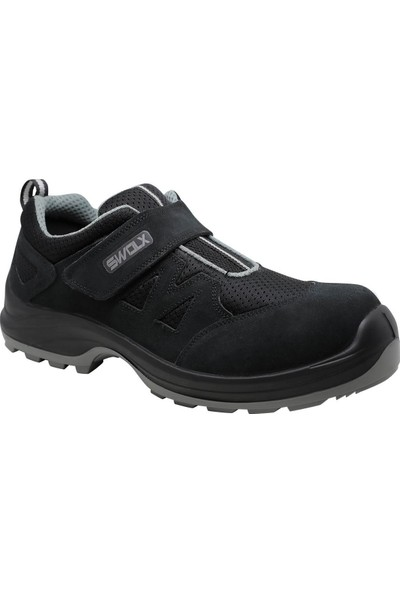 Hds Flx Trigon S1 Ayakkabı Cırtlı Siyah