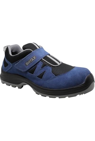 Hds Flx Trigon S1 Ayakkabı Cırtlı Mavi