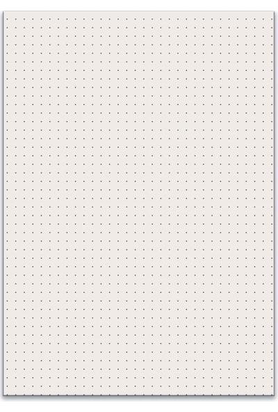 Folix Softbook Noktalı Defter Kraft Kapak 50 Yaprak 15,5 x 23 cm