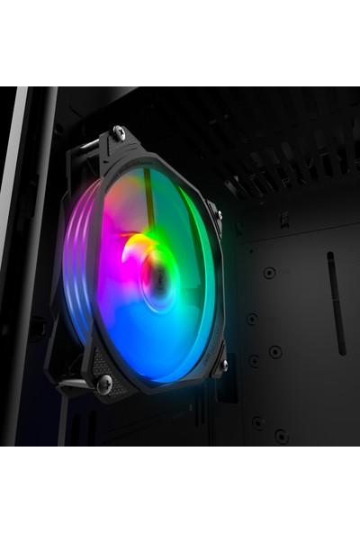 Alseye M120-P 120MM LED Rgb Kasa Fanı