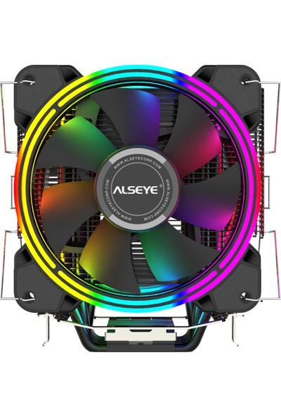 Alseye H120-D Tower 2x Fanlı 120MM Rgb Işlemci Soğutucu