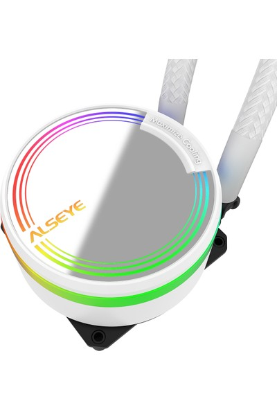 Alseye M-360 (White) Rgb Sıvı Soğutma