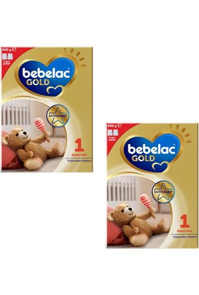 Bebelac Gold 1 Bebek Sütü 900 gr 2 Adet