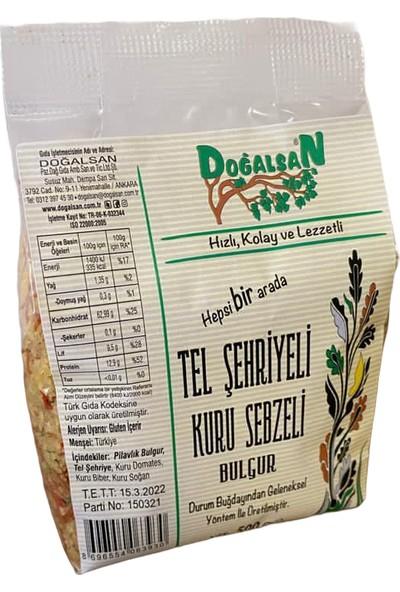 Doğalsan Tel Şehriyeli Kuru Sebzeli Bulgur 500 gr