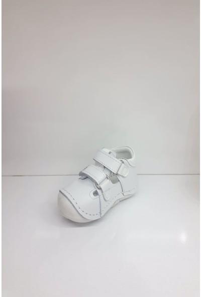 Hayat HYT004 Ilk Adım Deri Erkek Bebek Ortopedi Yazlık Sandalet