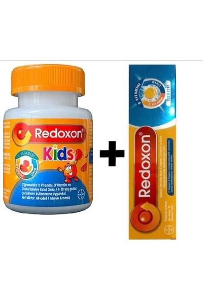 Redoxon Kids ve Yetişkin Ikili Gıda Takviyesi Paketi