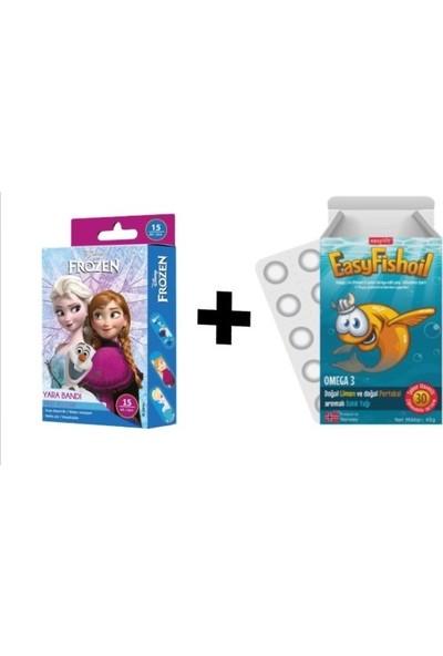 Easyvit Easyfishoil Omega 3 ve Frozen Yarabandı 2'li Paket