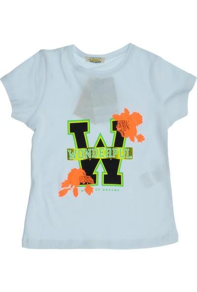 Almi Ana Kuzusu Almi Kız Çocuk Wonderful Baskılı Tişört