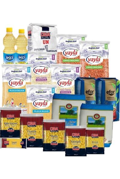 Gıda Erzak Paketi 19 kg