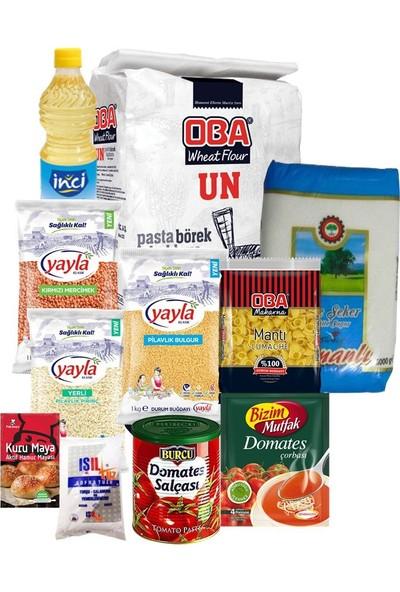Ekonomik Gıda Paketi 15 Parça- Tbyg-Erzak-23