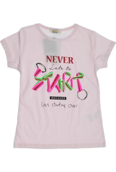 Almi Ana Kuzusu Almi Kız Çocuk Never Baskılı Tişört