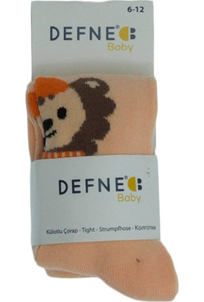Defne Baby Kız Bebek Yıkanmış Kilotlu Çorap