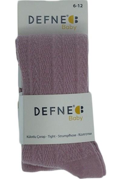 Defne Baby Kız Çocuk Yıkanmış Kilotlu Çorap